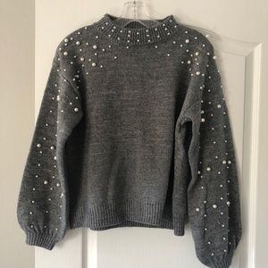 Sweaters - Beaded sweater, NWOT